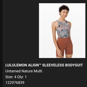 Lululemon Gray Bodysuit